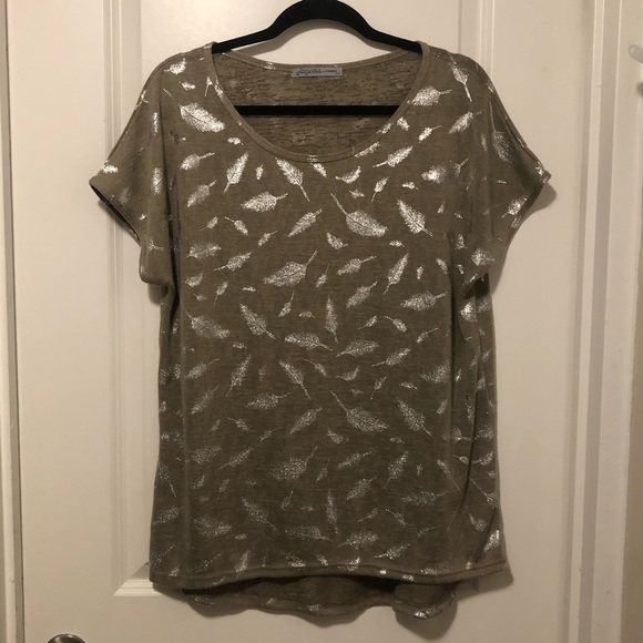 ARIANNA Tops - ARIANA By Howard Woman's Geometric Shirt